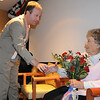Congressman Jared Polis congratulates Josephine Kater Robinson, 92, a WWII WASP, Women Airforce Service Pilots, for receiving her Congressional Gold Medal during the ceremony at The Stratford at the Flatirons on Saturday.<br /> May 22, 2010<br /> Staff photo/ David R. Jennings