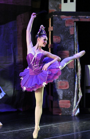 Kaitlan Smallwood, Swanilda the puppet, dances as she comes to life during the School of Ballet Nouveau Colorado's Student Company's performance of Coppelia Thursday at the Audi.<br /> May 13, 2010<br /> Staff photo/ David R. Jennings