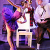 Kaitlan Smallwood, Swanilda the puppet, bows to Sean Watson, Dr. Coppelius during the School of Ballet Nouveau Colorado's Student Company's performance of Coppelia Thursday at the Audi.<br /> May 13, 2010<br /> Staff photo/ David R. Jennings