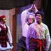 Sean Watson, center, Dr. Coppelius, a member of the BNC professional company, prepares to attack Jeremy Studinski, Franz, in Coppelius' workshop during the School of Ballet Nouveau Colorado's Student Company's performance of Coppelia Thursday at the Audi.<br /> May 13, 2010<br /> Staff photo/ David R. Jennings
