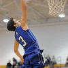 Broomfield's Nick Orgarato goes to the basket against Legacy during Saturday's cross town game at Legacy.<br /> <br /> January 7, 2012<br /> staff photo/ David R. Jennings