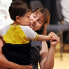 Stacey Chaves dances with her son, Ty, 21 months-old, during the Cuddle Time Concert with Jamie Grigsby, pianist at the Broomfield Auditorium.<br /> July 11, 2009<br /> staff photo/David R. Jennings