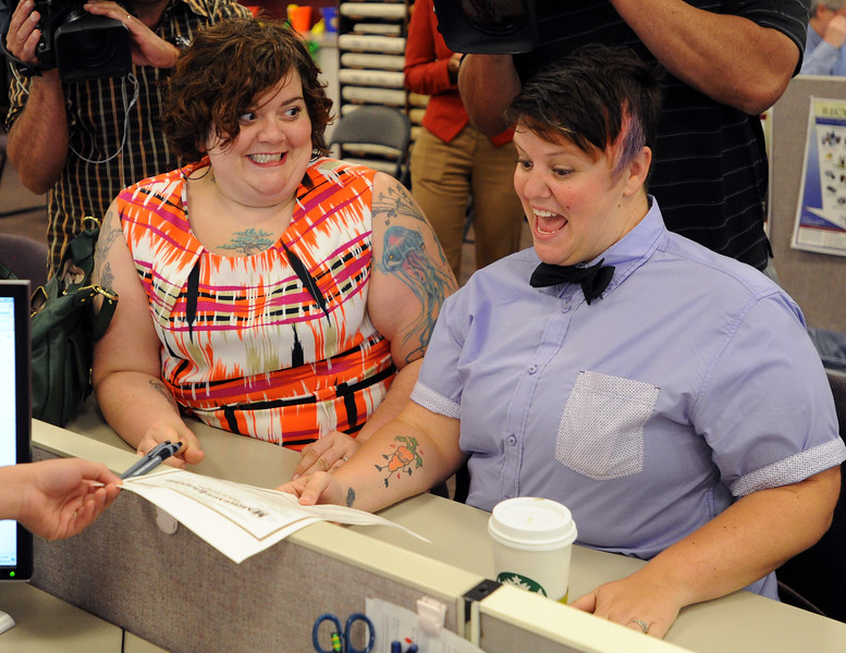 Marriage Licenses for Gay Couples