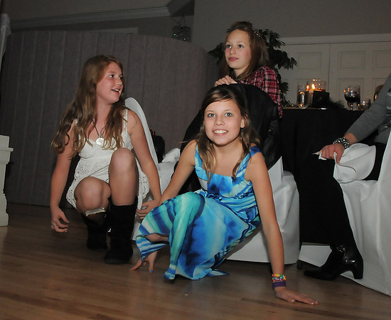 Dance Arts dance students watch the dance performances  during Friday's gala celebrating 50 years of dance with Dance Arts Studio at the Chateau at Fox Meadows. <br /> November 12, 2010<br /> staff photo/David R. Jennings