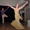 Cory Klements, left, and Corey Foster, alumni of Dance Arts Studio, perform a dance  during Friday's gala celebrating 50 years of dance in Broomfield with Dance Arts Studio at the Chateau at Fox Meadows. <br /> November 12, 2010<br /> staff photo/David R. Jennings