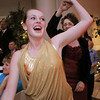 Gracie Lee leads her mother Jennifer Barker to the dance floor during Friday's gala celebrating 50 years of dance with Dance Arts Studio at the Chateau at Fox Meadows. <br /> November 12, 2010<br /> staff photo/David R. Jennings
