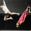 Andrew Bosio and Jennifer Johnson (Dance Arts Studio) perform a jazz dance at Dancing With The Broomfield Stars at the 1stBank Center on Wednesday.<br /> September 22, 2011<br /> staff photo/ David R. Jennings