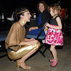 Heather Drake talks to her daughter Mattea, 5, after her performance  at Dancing With The Broomfield Stars at the 1stBank Center on Wednesday.<br /> September 22, 2011<br /> staff photo/ David R. Jennings