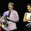 John Long and Carlee Taga were the winning couple at  Dancing With The Broomfield Stars at the 1stBank Center on Wednesday.<br /> September 22, 2011<br /> staff photo/ David R. Jennings