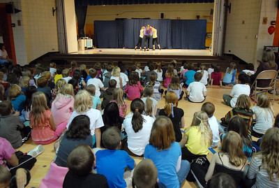 Students watch the Children's Dance Theater's performance of Dancing With Dr. Seuss at Kohl Elementary School on Wednesday. September 14, 2011 staff photo/ David R. Jennings