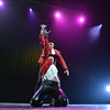 Mike Croell dances with Stephanie McGill with Dance Arts Studio, performs a routine in trubute to Michael Jackson at the 3rd Annual Dancing with the Broomfield Stars at the 1stBank Center on Thursday. <br /> September 20, 2012<br /> staff photo/ David R. Jennings