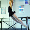 Carolyn Oliver, 17, performs a dance during rehearsal for Danse Etoilte Ballet's  Alice in Wonderland on Thursday. <br /> <br /> May 17, 2012 <br /> staff photo/ David R. Jennings