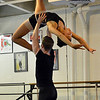 Amanda Greening, 18, is lifted by Christopher Darling while rehearsing for Danse Etoile Ballet's season opening production, Celebrate Dance and Music.<br /> August 17, 2012<br /> staff photo/ David R. Jennings