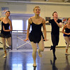 Danse Etoile Ballet dancers rehearse for the season opening production, Celebrate Dance and Music.<br /> August 17, 2012<br /> staff photo/ David R. Jennings