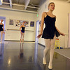 Caroline Oliver leads fellow students in a modern dance while  rehearsing for Danse Etoile Ballet's season opening production, Celebrate Dance and Music.<br /> August 17, 2012<br /> staff photo/ David R. Jennings