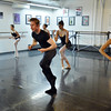The troupe performs a modern dance while rehearsing for Danse Etoile Ballet's season opening production, Celebrate Dance and Music.<br /> August 17, 2012<br /> staff photo/ David R. Jennings