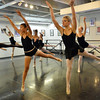 Caroline  Oliver, 17, right,  Amanda Greening and Christopher Darling rehearse for Danse Etoile Ballet's season opening production, Celebrate Dance and Music.<br /> August 17, 2012<br /> staff photo/ David R. Jennings