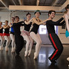 The dancers move in a line across the floor during rehearsal for the Danse Etoile Ballet production of Pinnochio on Monday.<br /> May 23, 2011<br /> staff photo/David R. Jennings