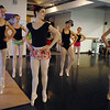 Natalie Roubique, center, Pinnchio, leads the dancers across the floor during rehearsal for the Danse Etoile Ballet production of Pinnochio on Monday.<br /> May 23, 2011<br /> staff photo/David R. Jennings