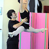 "Natalie Roubique and Cooper Ramsey perform a dance during rehearsal of Danse Etoile's A Christmas Carol  at the studio on Saturday.<br /> More photos please see  <a href=""http://www.broomfieldenterprise.com"">http://www.broomfieldenterprise.com</a><br /> December 10, 2011<br /> Staff photo/ David R. Jennings"