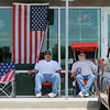 Ryan and Mike Castro keep watch over their car in the One Soldier's Dream car show fundraiser for at Bumpers Restaurant.<br /> June 18, 2011<br /> staff photo/David R. Jennings