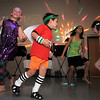 Guillano Busnardo, 6, center, dances during the disco dance off for the School of Ballet Nouveau Colorado at the BNC studio on Saturday.<br /> July 9, 2011<br /> staff photo/ David R. Jennings
