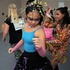 Hannah Herrick, 10, center, dances while dressed in a 1970's period costume, for  the disco dance off for the School of Ballet Nouveau Colorado at the BNC studio on Saturday.<br /> July 9, 2011<br /> staff photo/ David R. Jennings