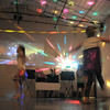 Students dance in the disco light during the disco dance off for the School of Ballet Nouveau Colorado at the BNC studio on Saturday.<br /> July 9, 2011<br /> staff photo/ David R. Jennings