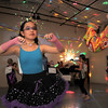 Hannah Herrick, 10, left, dances with Greer Harper, 9, during the disco dance off for the School of Ballet Nouveau Colorado at the BNC studio on Saturday.<br /> July 9, 2011<br /> staff photo/ David R. Jennings