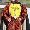 "Freshman Joshua Killian-Keup dressed as Tigger wearing a mask so he became the ""Masked Avenger"" for super hero day during homecoming week at Broomfied High School on Wednesday.<br /> <br /> Sept. 30, 2009<br /> Staff photo/David R. Jennings"