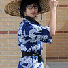 "Matthew Keddara, a junior, dressed as ""Kung Lao"" for super hero day during homecoming week at Broomfied High School on Wednesday.<br /> <br /> Sept. 30, 2009<br /> Staff photo/David R. Jennings"
