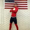 Joe Robison, a junior, dressed as the Flash for super hero day during homecoming week at Broomfied High School on Wednesday.<br /> <br /> Sept. 30, 2009<br /> Staff photo/David R. Jennings
