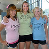 "Juniors Sierra White, left, Alexis Roach and Brooke King dressed as the ""Powder Puff Girls"" ,Blossom, Buttercup and Bubbles for super hero day during homecoming week at Broomfied High School on Wednesday.<br /> <br /> Sept. 30, 2009<br /> Staff photo/David R. Jennings"