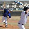 Broomfield Silver Creek Baseball24.JPG Kyle Tinnius of Broomfield, pitches against Silver Creek on Saturday.<br /> Cliff Grassmick/ March 19, 2011