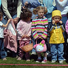 Children in the 3-4 year-old group wait for the signal to gather plastic eggs and candy during the 16th Annual Egg Scramble at Community Park on Saturday.<br /> <br /> April 3, 2010<br /> Staff photo/David R. Jennings