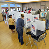Voters cast their ballots at the Broomfield Senior Center on Tuesday.<br /> <br /> November 6, 2012<br /> staff photo/ David R. Jennings