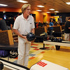 Broomfield Council candidate David Ryan bowls at Chipper Lanes on election night, Tuesday.<br /> November 3, 2009<br /> Staff photo/David R. Jennings