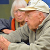 Fred Farver, 90, right, and his wife Virginia chat after walking around the track at the Paul Derda Recreation Center on Thursday.<br /> January 3, 2013<br /> staff photo/ David R. Jennings