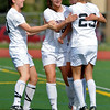 FVHS04<br /> Fairview players celebrate their first goal against Smoky Hill.<br /> Photo by Marty Caivano/Camera/May 18, 2010