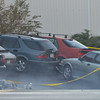 An Adams County Bomb Squad detonates a package from a possible suspects car for a bomb at the scene of a fatal shooting at 155 Commerce St. on Friday in Broomfield.<br /> October 12, 2012<br /> staff photo/ David R. Jennings