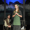 Natalie Wilcoxen, right, Hodel, before going to Siberia sings to her father, Austin Baltzer, Tevya, in the train station during rehearsal of  Broomfield Heights Middle School production of Fiddler on the Roof on Thursday.<br /> <br /> March 15,  2012 <br /> staff photo/ David R. Jennings