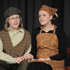 Austin Baltzer, left, Tevya, sings with Hannah Tripp, Golde, during rehearsal of  Broomfield Heights Middle School production of Fiddler on the Roof on Thursday.<br /> <br /> March 15,  2012 <br /> staff photo/ David R. Jennings