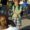Davis Baun, 5, poses for a picture by his mother Kim outside of the school on the first day of school at Mountain View Elementary School on Wednesday. <br /> <br /> August 19, 2009<br /> staff photo/David R. Jennings