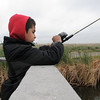 Tyson Perez, 8, tries his hand at fishing during Saturday's Fishing Derby at Tom Frost Reservoir.<br /> May 12, 2012 <br /> staff photo/ David R. Jennings