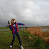 Natalie Levenson, 12, casts a line during the Fishing Derby sponsored by the Colorado Division of Wildlife and Broomfield Open Space Foundation at Tom Frost Reservoir on Saturday.<br /> May 14, 2010<br /> Staff photo/ David R. Jennings
