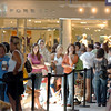 More than 370 customers stood in line for the opening of Forever 21 store at FlatIron Crossing mall on Saturday. The first inline camped out starting at  6 a.m. Saturday morning. The first 200 customers received gift cards ranging from $10 - $210. <br /> August 1, 2009<br /> staff photo/David R. Jennings