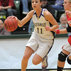 Taylor Helbig, Holy Family drives the ball to the basket agains tEaton during the 3A state championship game at Moby Arena in Ft. Collins  on Saturday.<br /> March 12, 2011<br />  staff photo/David R. Jennings
