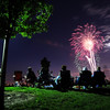 The fireworks display awed spectators watching from Broomfield County Commons Park as the finale to Broomfield's Great American Picnic.<br /> <br /> July 4, 2009<br /> staff photo/David Jennings