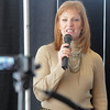 Alice Swanson with the Bolder Boulder speaks during the kick-off conference for the Frank Shorter's Race 4 Kids' Health fundraiser for Healthy Learning Paths at the 1st BankCenter on Thursday.<br /> February 2, 2012<br /> staff photo/ David R. Jennings