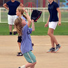 "Dirt Divas player Emily Kirk, 7, keeps her eye on the ball during the Adopt-A-Team Program game to start the Colorado Freedom Invitational Softball Tournament at the Community Park ballfields on Friday.<br /> <br /> June 29, 2012<br /> staff photo/ David R. Jennings<br /> <br /> for more photos please go to  <a href=""http://www.broomfieldenterprise.com"">http://www.broomfieldenterprise.com</a>"